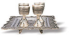 Carved Tray With Cups  iran metal work art work brass silver gold cupper felez iron ahan